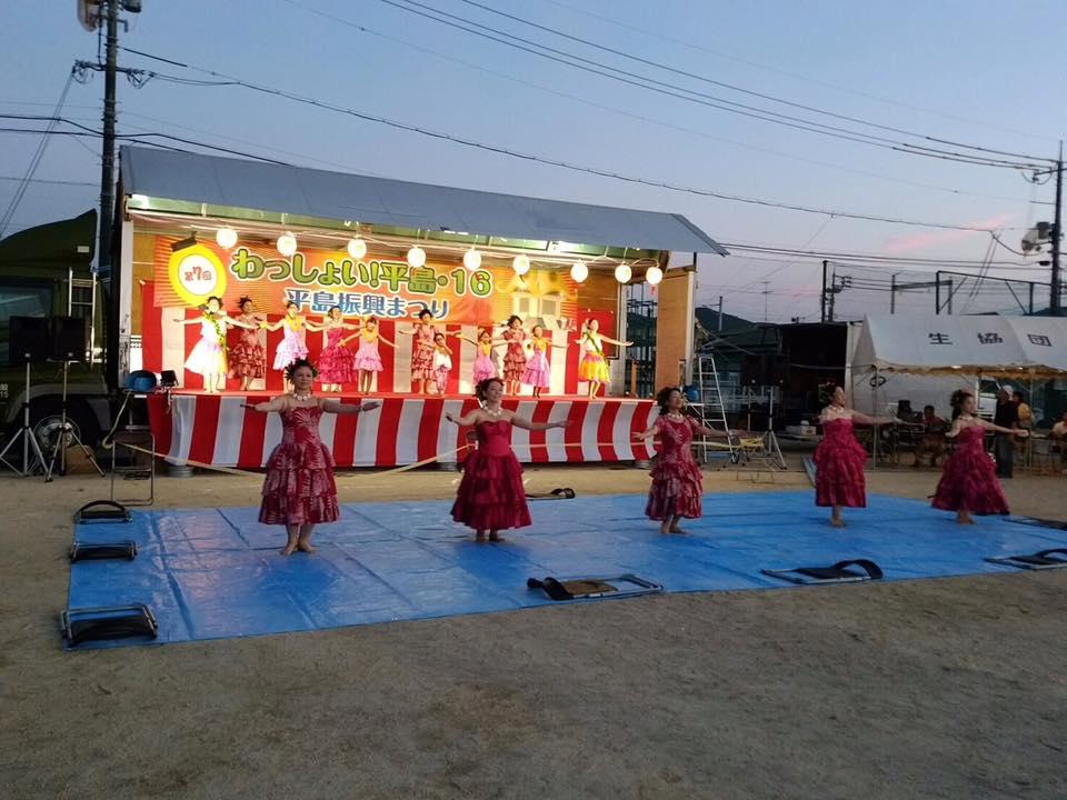 平島夏祭り サポート行きました!